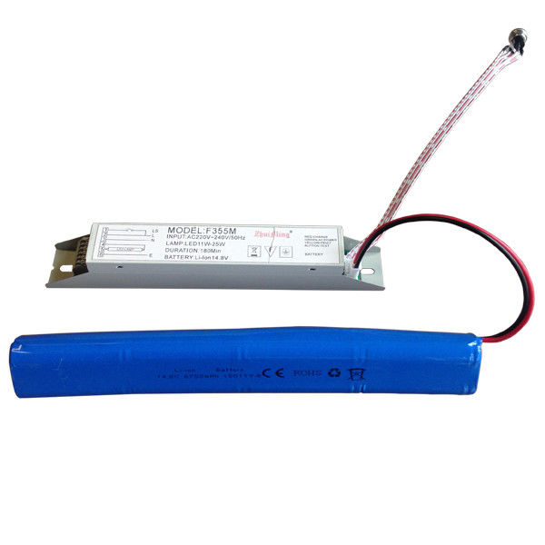Battery Operated Emergency Light Power Supply with maintain condition led lamps