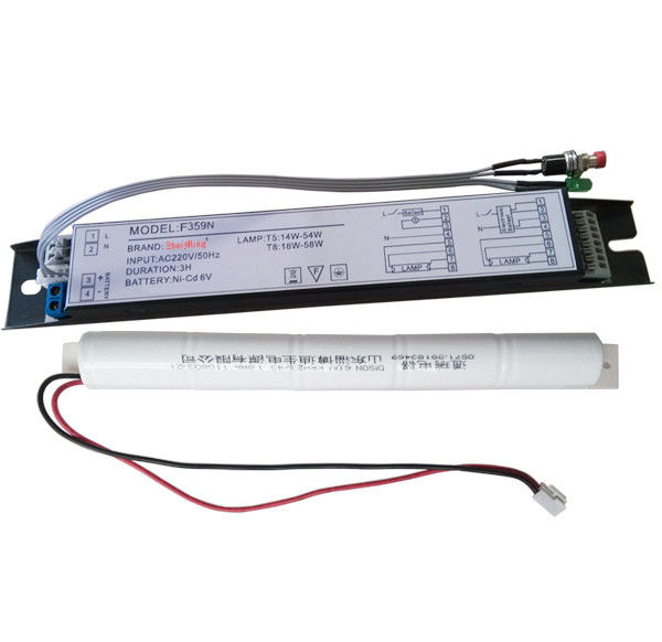 220V 58W 3 Hours Autonomy Rechargeable Emergency Light Power Supply For Fluorescent Lamps supplier