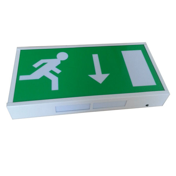 China Running Man Rechargeable LED Exit Signs Wall Surface Mounted , CE Certification factory