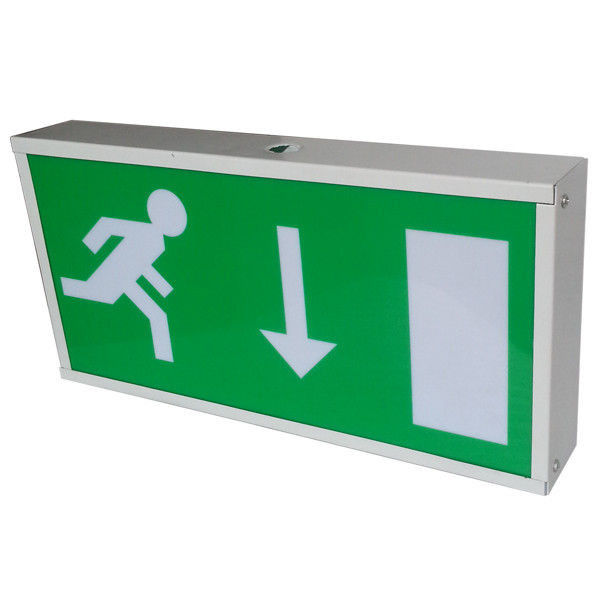 China T5 8W Fluorescent Tube Battery Powered LED Emergency Exit Signs Lights SF108AM factory
