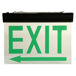 China Energy Saving Ceiling Mounted LED Aluminum Exit Sign With Acrylic Plate distributor