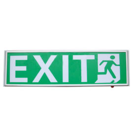 China Permanent Hanging 120mA Led Emergency Exit Sign With 3 Years Warranty distributor