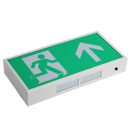 China Rechargeable Led Exit Signs , Emergency Battery Powered Exit Sign Lights With 3 Years distributor