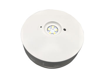 China Round Rechargeable LED FIre-retardant Emergency Light With 3 Hours Operation distributor