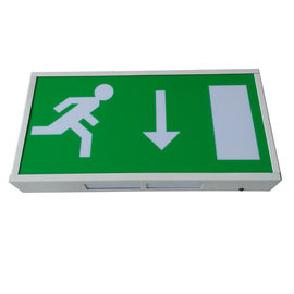 China Maintained Wall Surface Buildings LED Emergency Exit Sign With IP20 Rate distributor