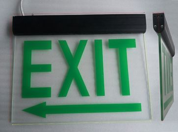 China Commercial Battery Operated Aluminum Exit Sign for Teaching Buildings (DSL008BM) distributor